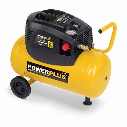 PowerPlus POWX1725 Kompresor 1100W 24L bezolejový