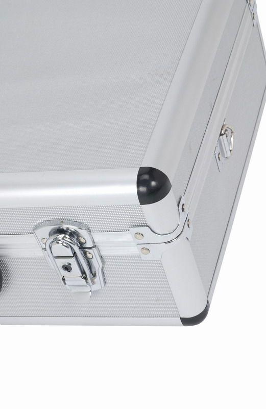 PRM10102B - Hliníkový kufr se zámky 460x330x160 mm černý