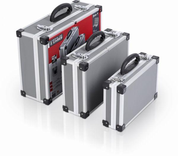 PRM10120 - Sada hliníkových kufrů 3 v 1