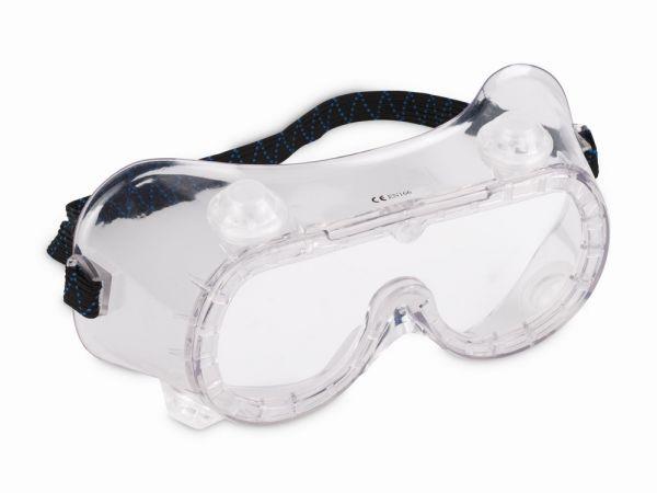 KRTS30004 - Ochranné brýle PVC s Ventily