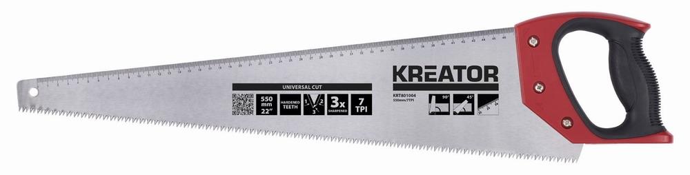 KRT801004 - Ruční pila 550mm 7TPI