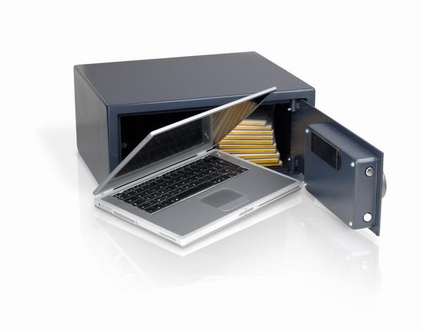 MOTSA12EL - Electronický trezor na notebook - nízký model