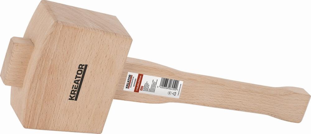 """KRT905005 - Dřevěná palice pro truhláře 4,5"""""""