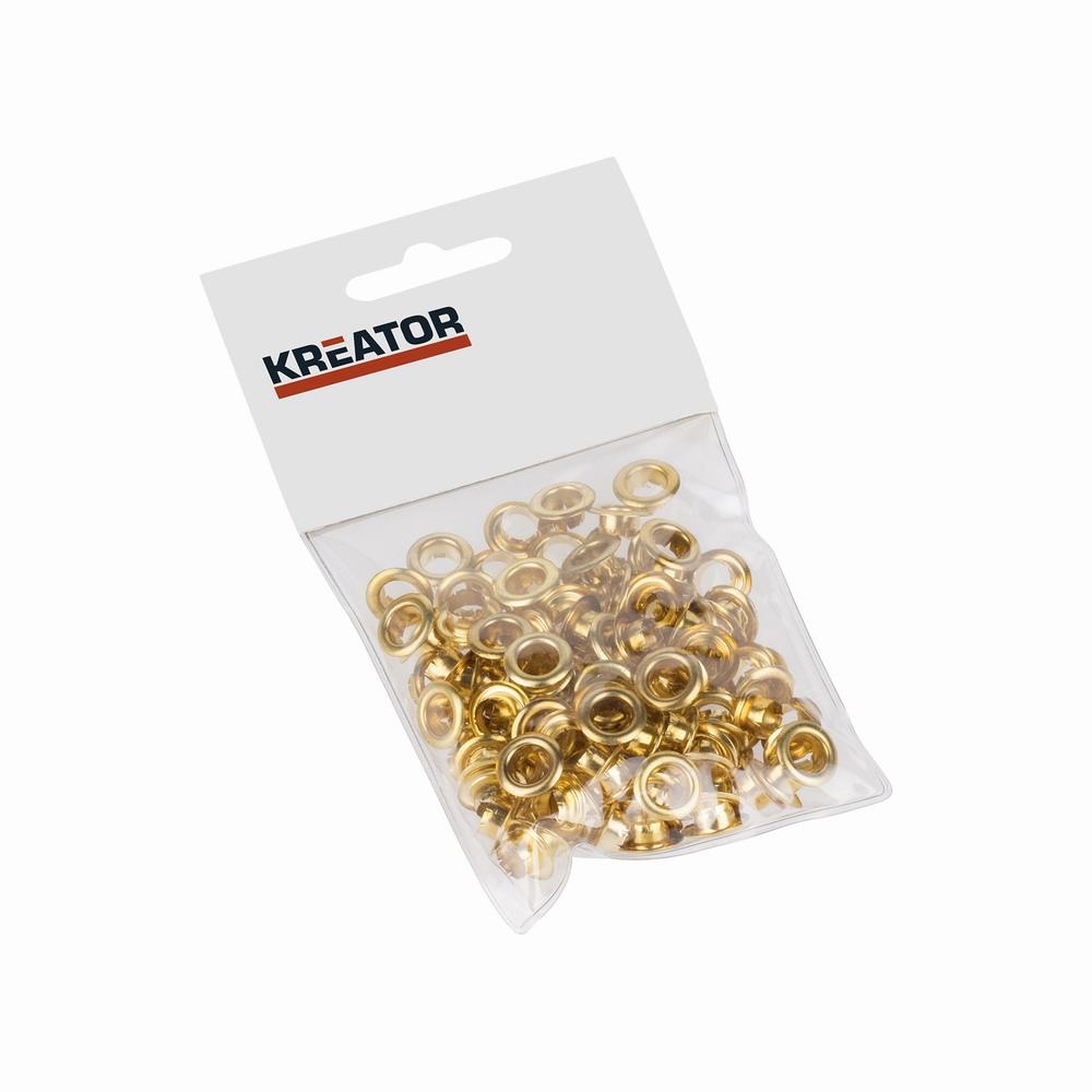 KRT616105 - Kroužky mosaz 7mm 100ks