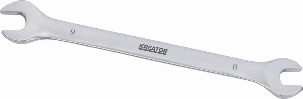 KRT501002 - Oboustranný klíč otevřený 8x9 -130mm