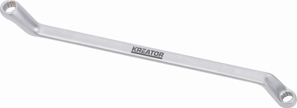 KRT501101 - Oboustranný klíč očko/očko 6x7 -120mm