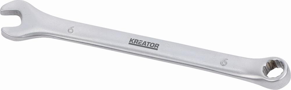 KRT501201 - Oboustranný klíč očko/otevřený 6 - 100mm