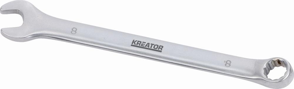 KRT501203 - Oboustranný klíč očko/otevřený 8 - 120mm