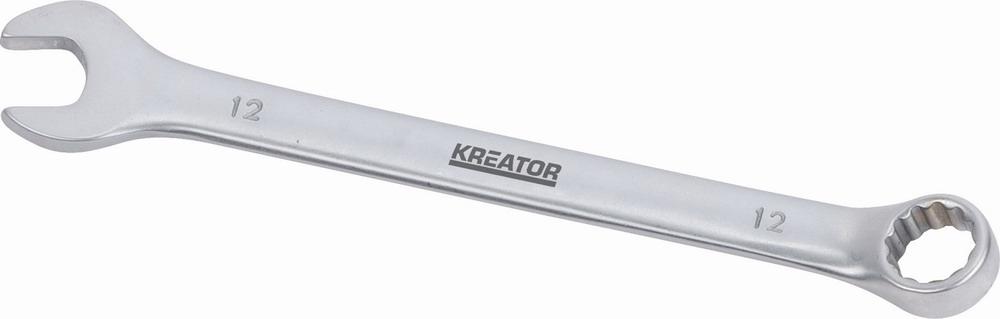 KRT501207 - Oboustranný klíč očko/otevřený 12 - 160mm