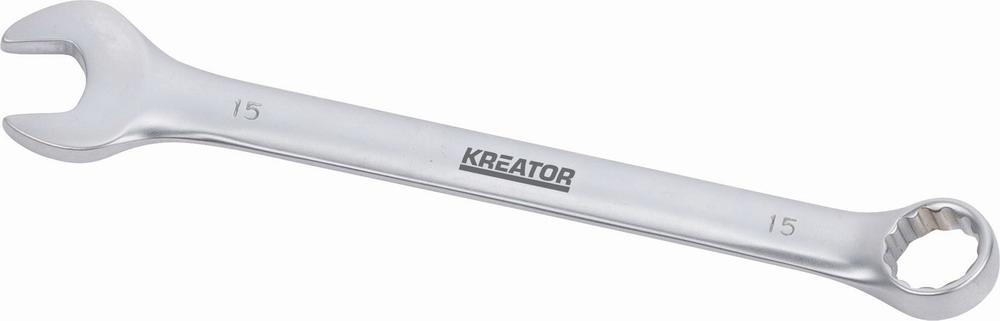KRT501210 - Oboustranný klíč očko/otevřený 15 - 185mm