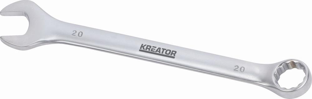 KRT501215 - Oboustranný klíč očko/otevřený 20 - 225mm