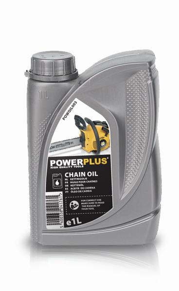 PowerPlus POWOIL003 Olej na mazání řetězů 1l