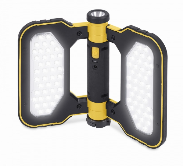 POWLI424 - LED ruční svítilna (baterka) 1x0,5W + 80x0,06W