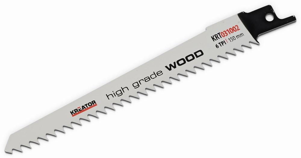 KRT031002 - 2 ks Pilový plátek pro ocasovou pilu na dřevo 150-6