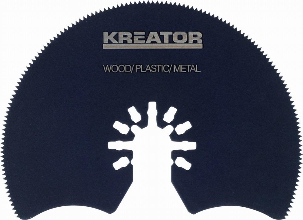 KRT990021 - Segmentový řezný kotouč 87 x 1,4 mm dřevo, plast, ocel
