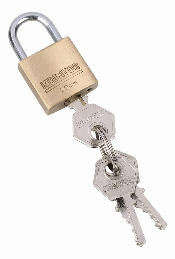KRT557001 - Visací zamek 20mm