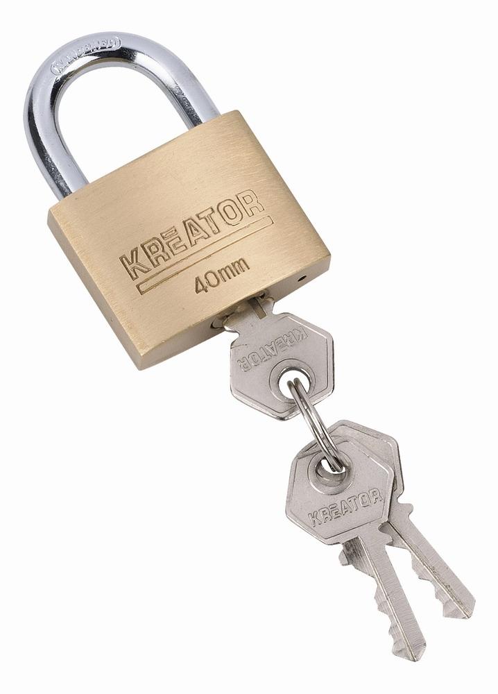 KRT557004 - Visací zámek 40mm