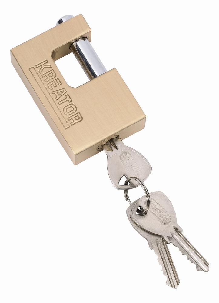 KRT557012 - Visací zámek čepový 75mm