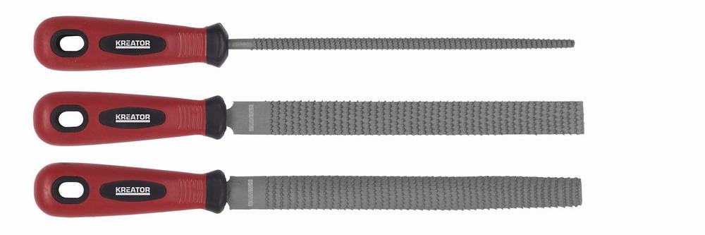 KRT453000 - Rašple sada 3ks 200mm