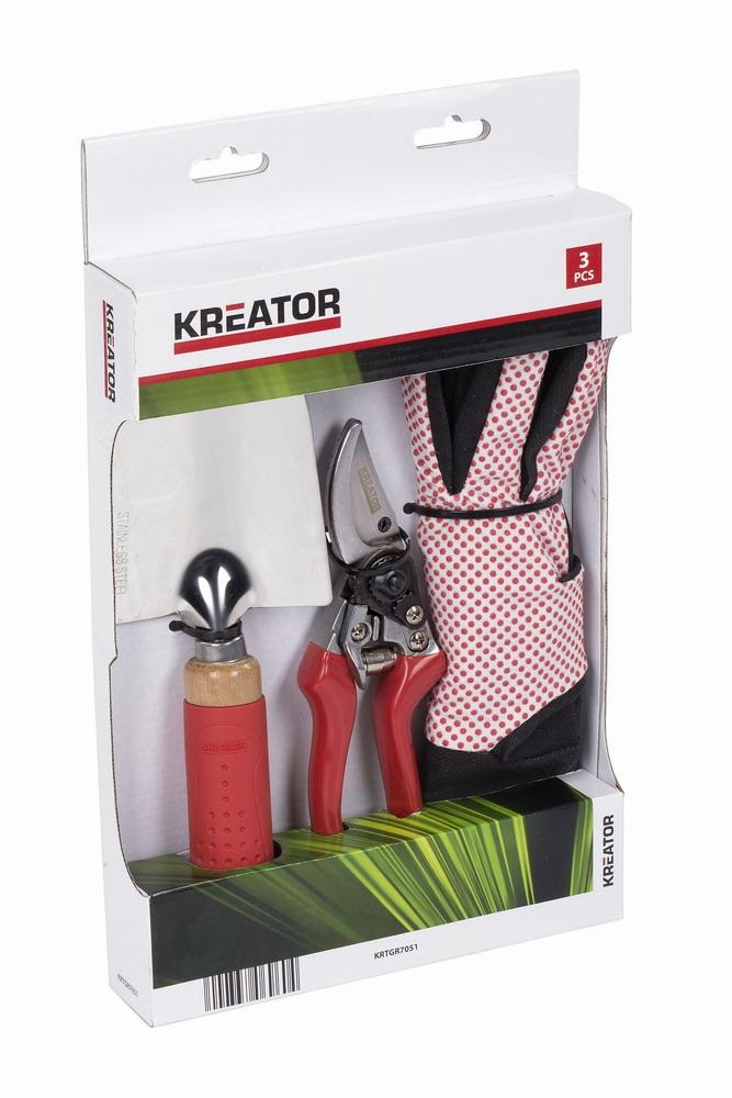 KRTGR7051 - Sada zahradního ručního nářadí 3ks