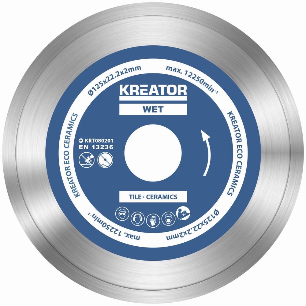 KRT080201 - Diamantový kotouč celoobvodový 125mm 3ks sada