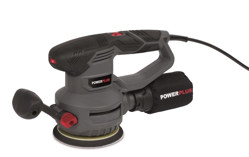 POWE40030 - Excentrická bruska 450 W