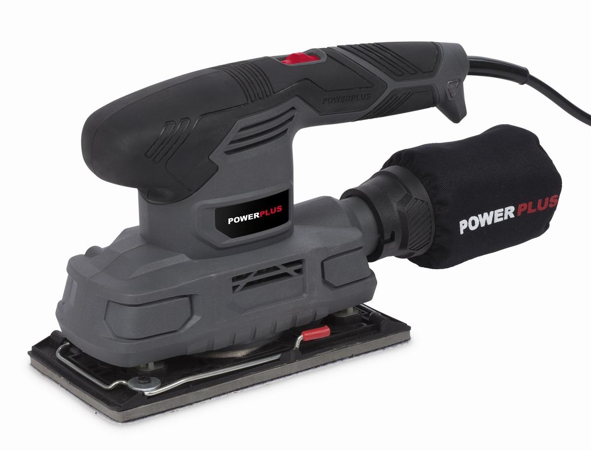 PowerPlus POWE40010 Vibrační bruska 180 W
