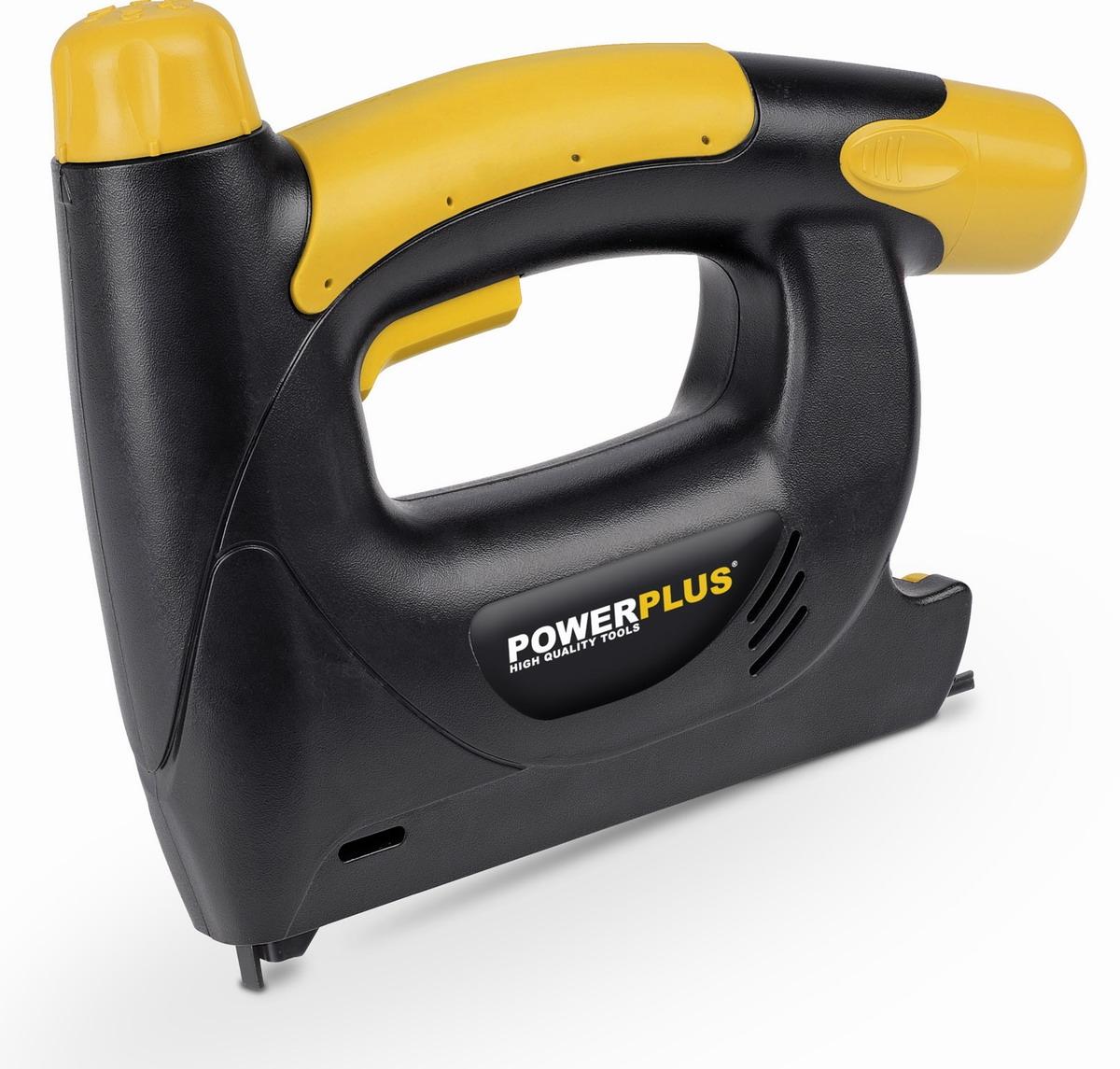 PowerPlus POWX137 AKU sponkovačka / hřebíkovačka 4,8 V