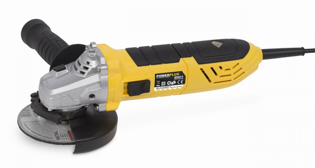 PowerPlus POWX0611 Úhlová bruska 900 W - 115 mm