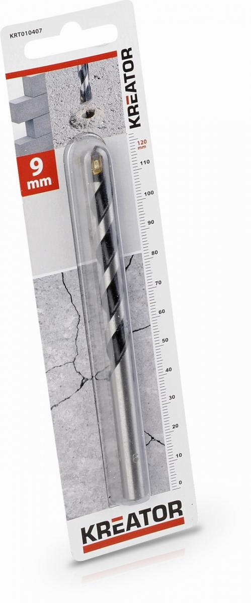 KRT010407 - Vrták do betonu 9x120 mm