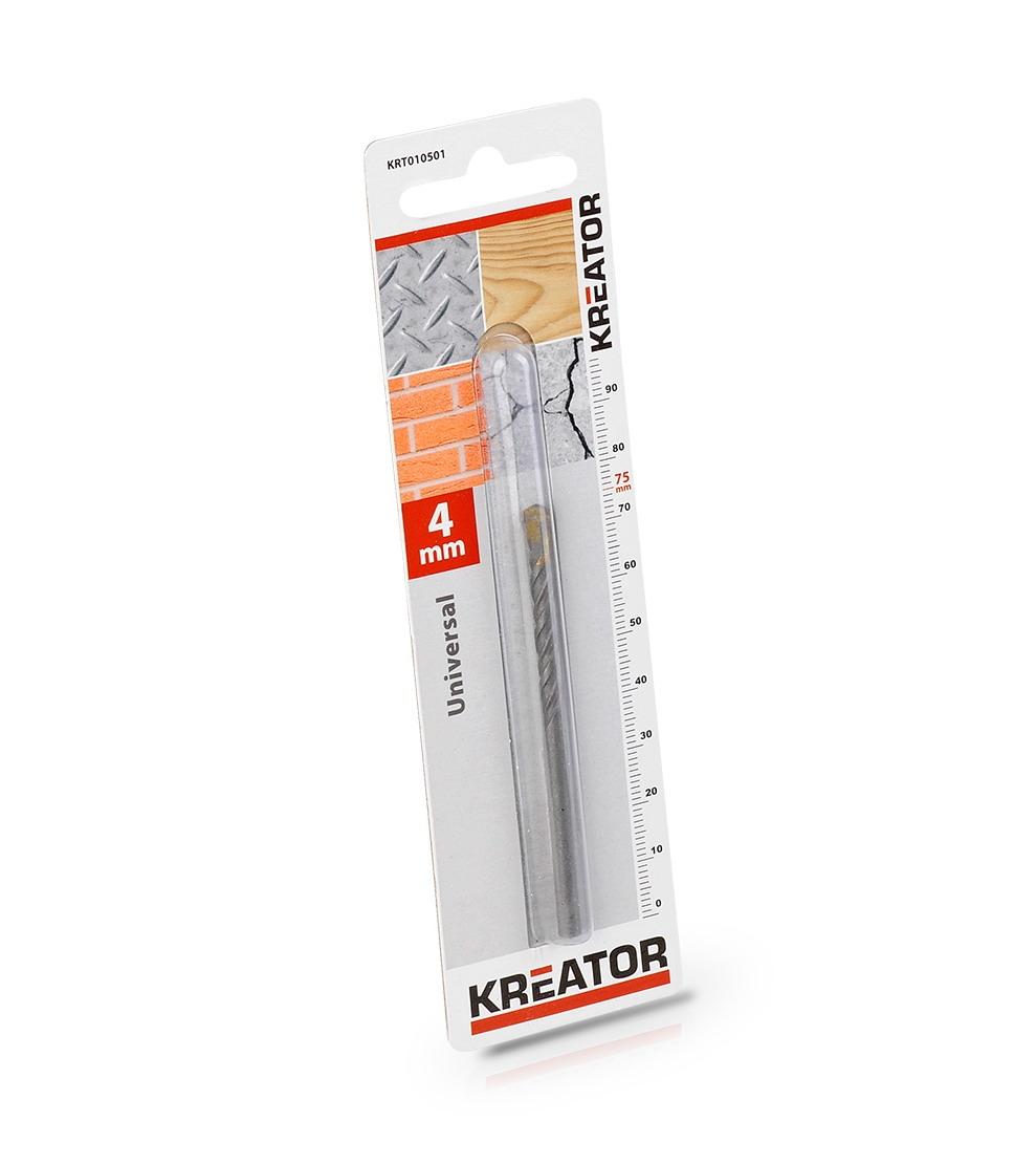 KRT010501 - Vrták univerzální 4x75 mm