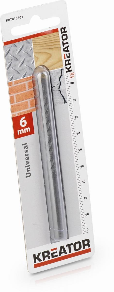 KRT010503 - Vrták univerzální 6x100 mm