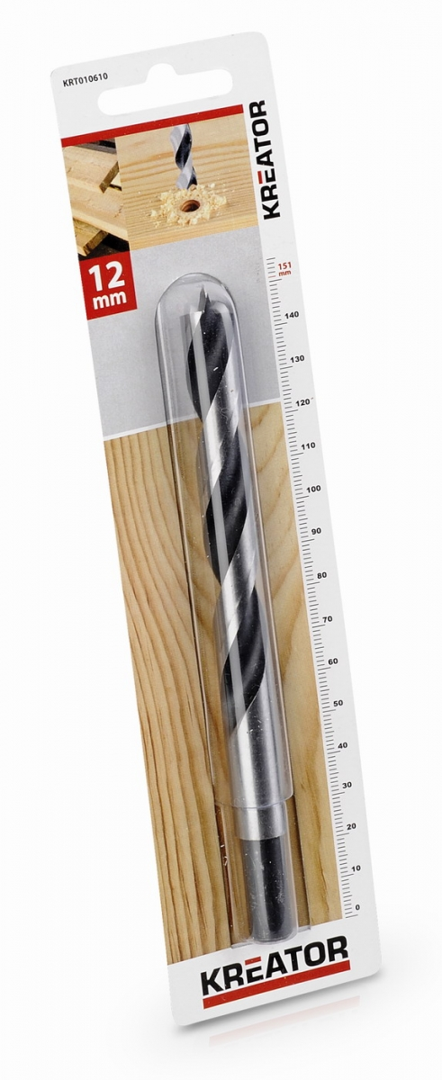 KRT010610 - Vrták do dřeva 12x151 mm