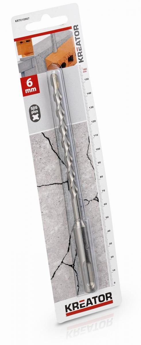 KRT010907 - Vrták SDS PLUS do betonu 6x160 mm