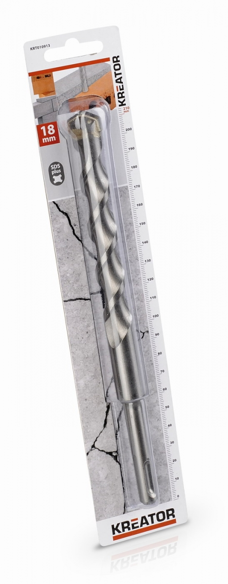 KRT010913 - Vrták SDS PLUS do betonu 18x210 mm