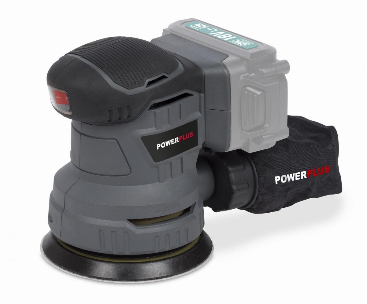 PowerPlus POWEB4010 Aku excentrická bruska 18V LI-ION (bez baterie)