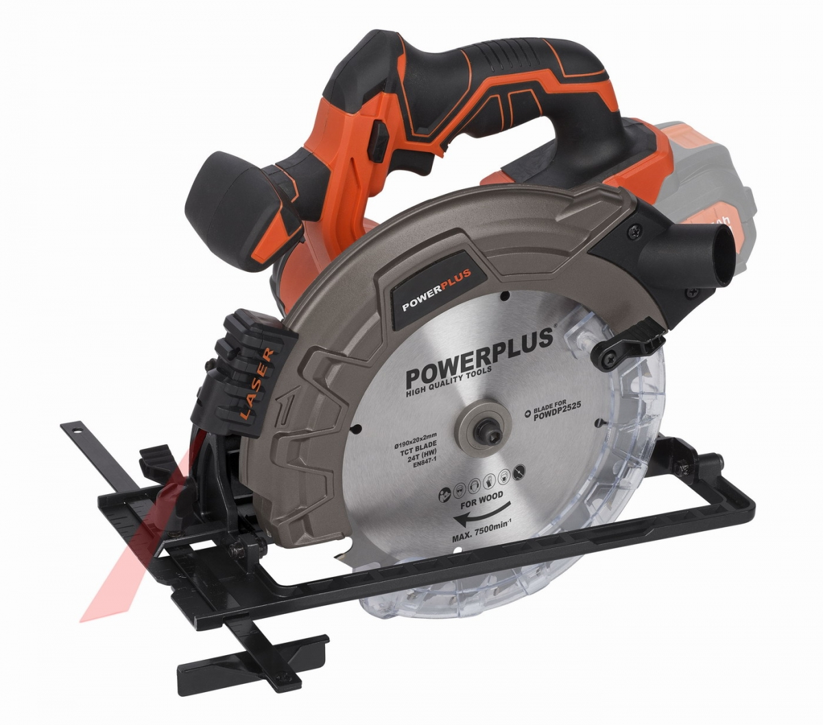 PowerPlus POWDP2525 Okružní pila 40V 190mm LI-ION (bez AKU)