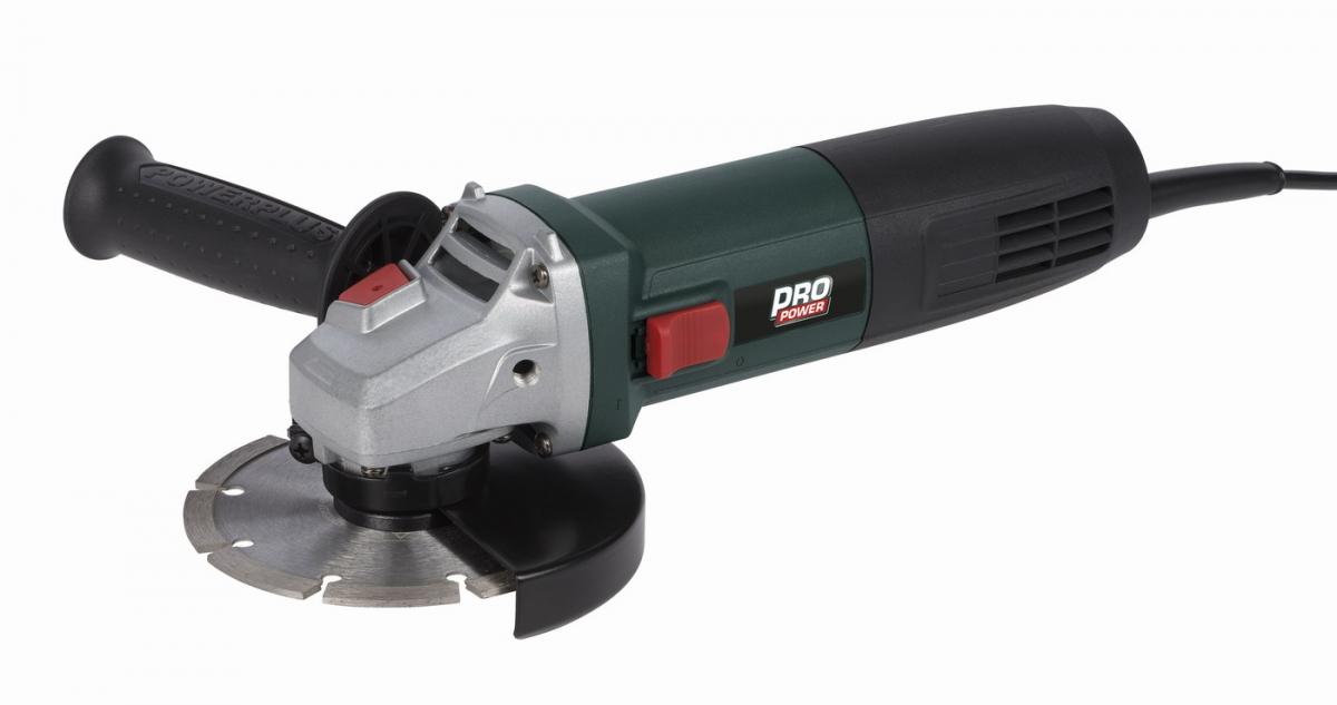 POWP1020 - Úhlová bruska 850W 125mm