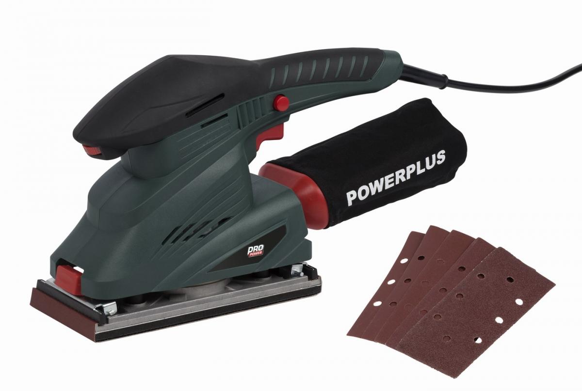 f4cf383d25ae3 Powerplus. Galéria: POWP5020 Vibračná brúska 250W