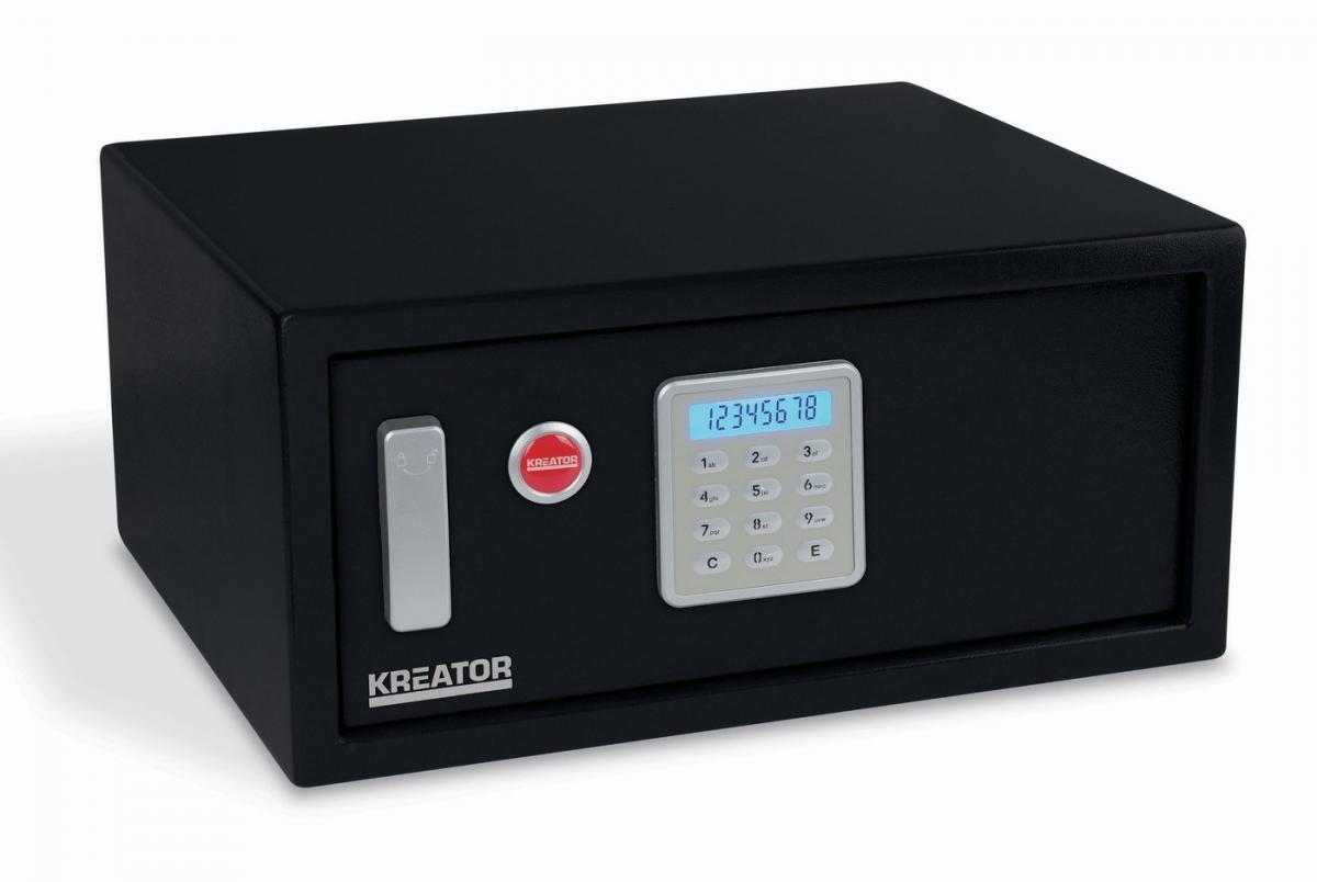 KREATOR KRT692012 Elektronický trezor 200x430x350 mm