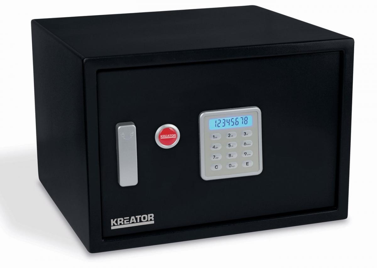 KREATOR KRT692015 Elektronický trezor 300x438x400 mm