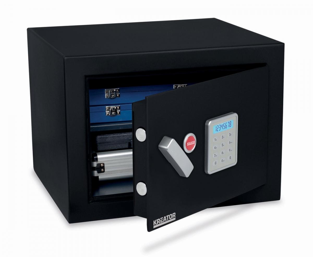 KREATOR KRT692030 Elektronický trezor 330x450x395 mm protipožární