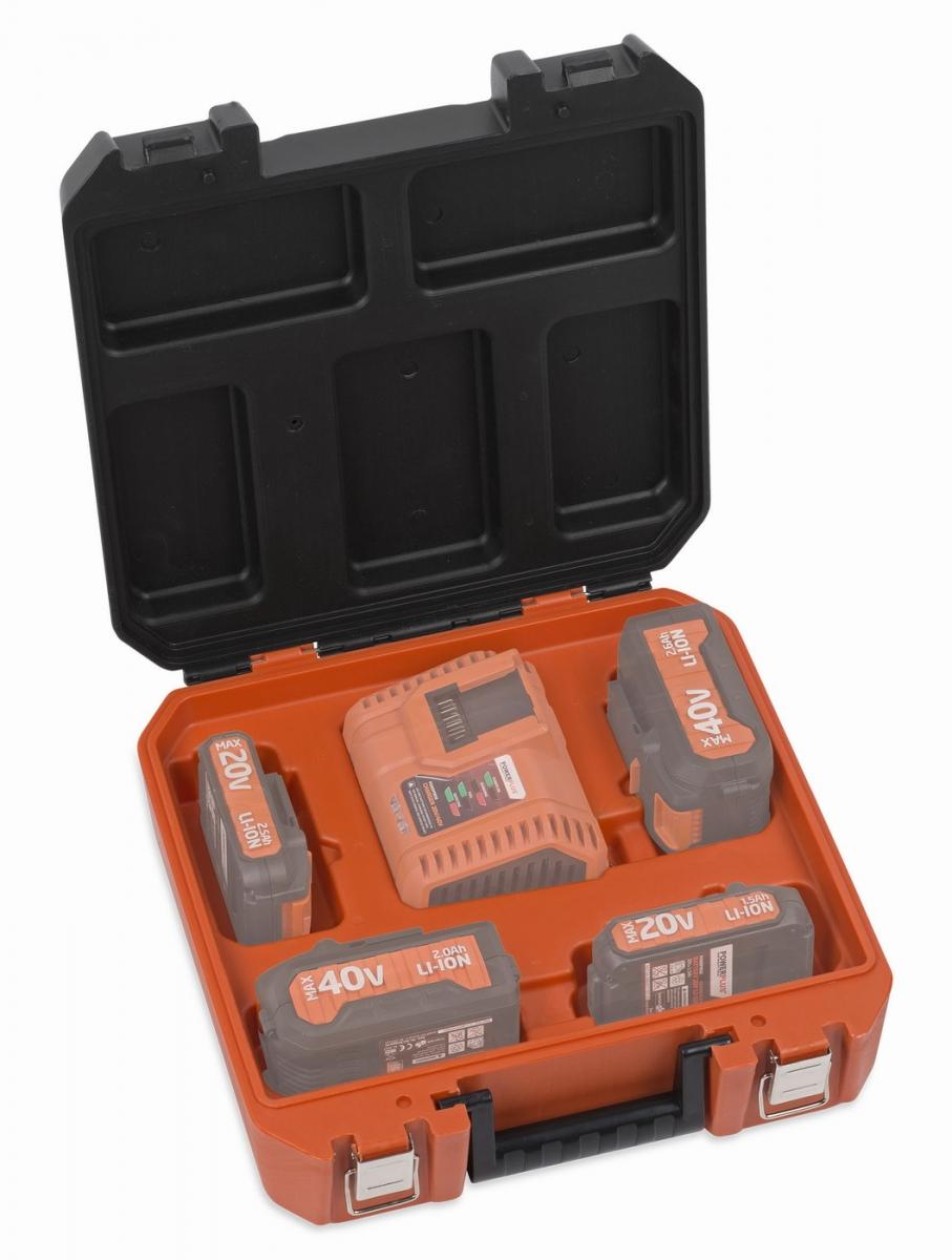 POWDPTB05 - Kufřík na baterie a nabíječku DUAL POWER