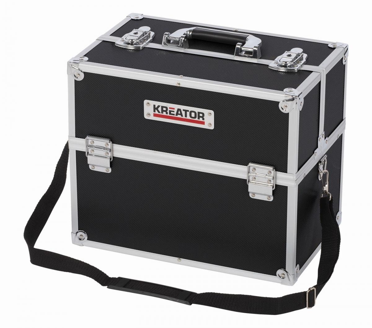 KRT640301B - Hliníkový kufr 360x230x300mm černý