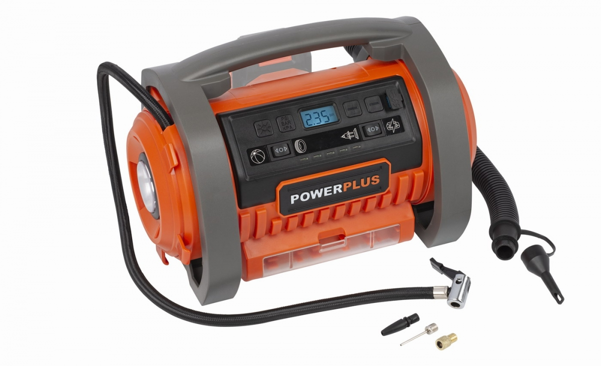 PowerPlus POWDP7030 Aku kompresor 20V + 220V (bez AKU)