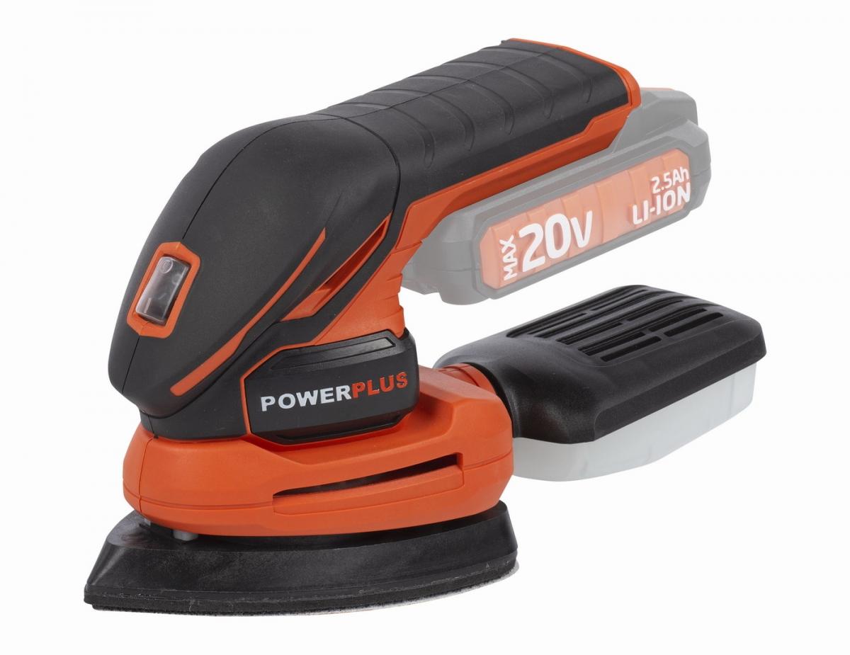 PowerPlus POWDP5020 Aku vibrační delta bruska 20V (bez AKU)