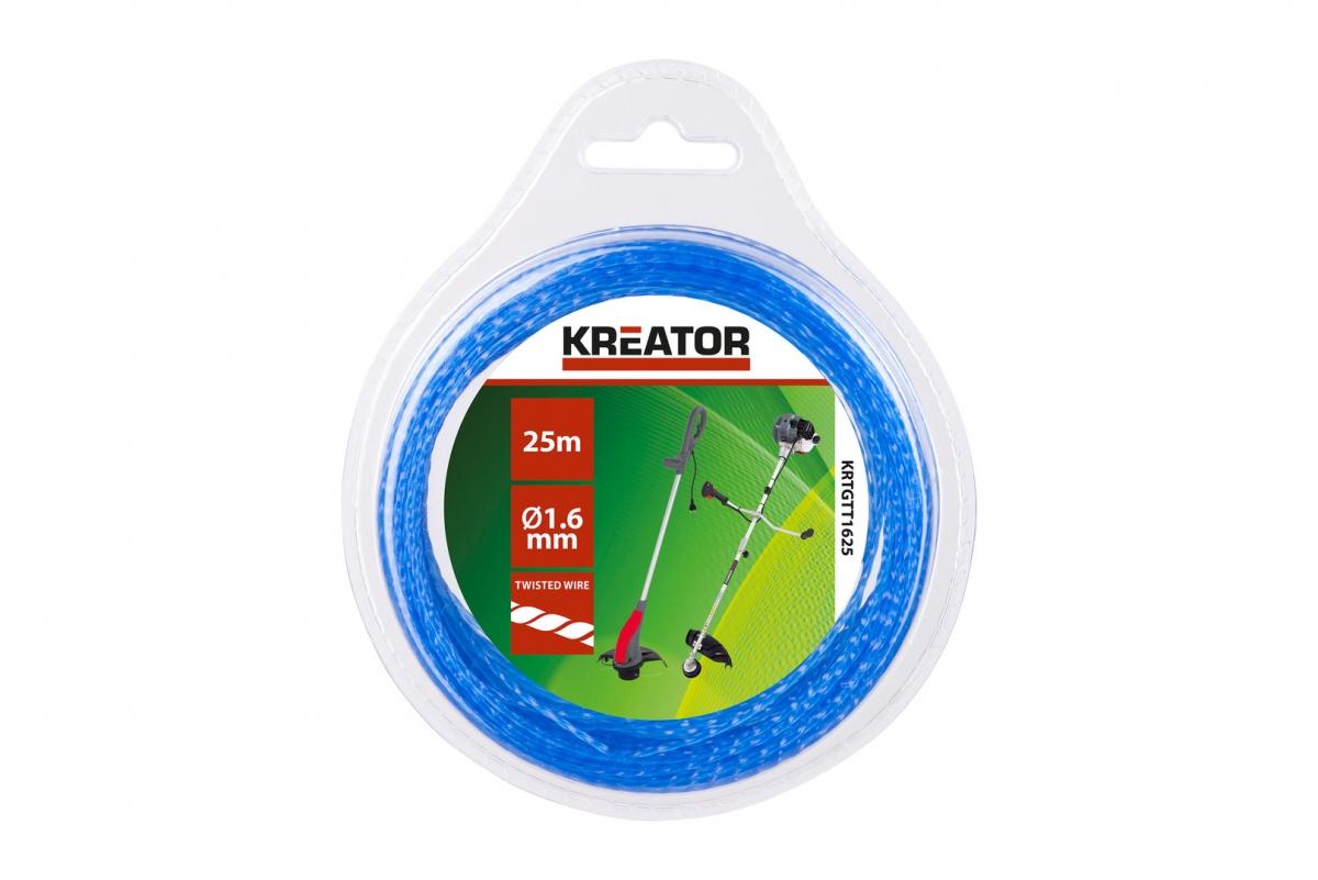 KRTGTT1650 - Struna kroucená 1,6 mm x 50 m