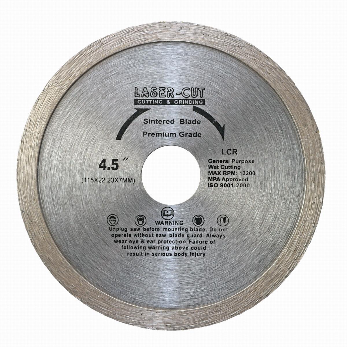 L00101 - Diamantový kotouč celoobvodový 115 x 22,23 x 7mm LCR