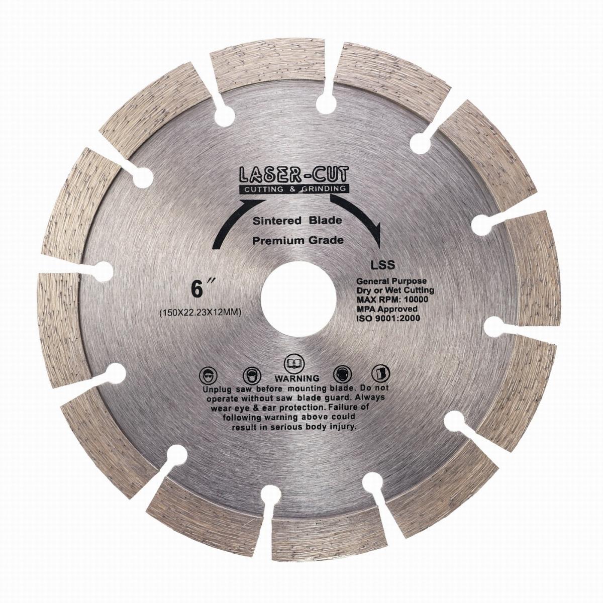 L00108 - Diamantový kotouč segmentový 150 x 22,23 x 12mm LSS