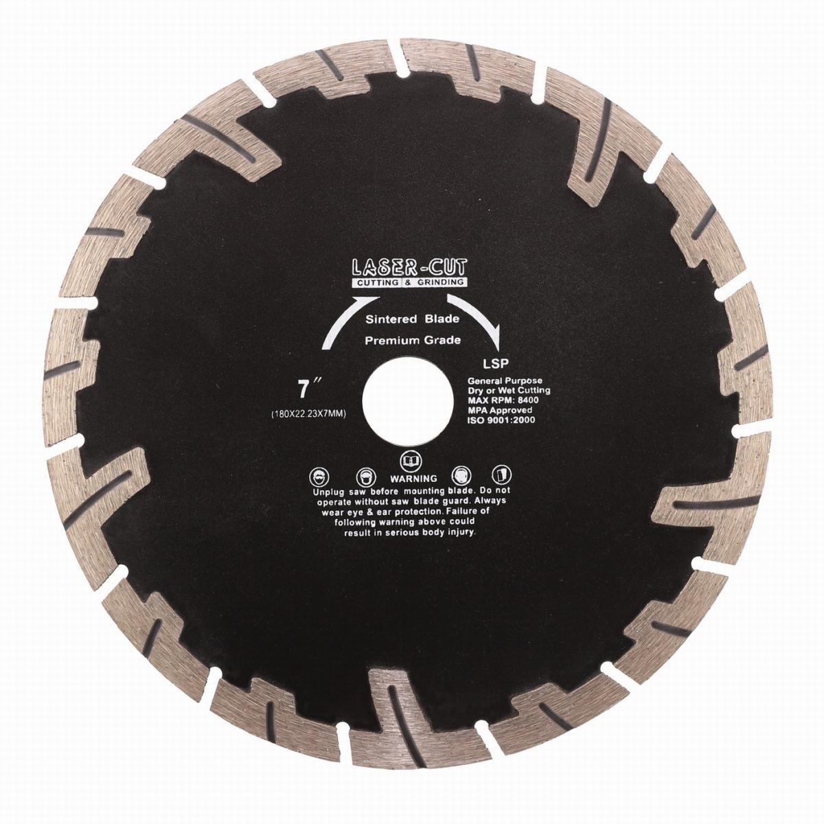 L00124 - Diamantový kotouč segmentový 180 x 22,23 x 7mm LSP